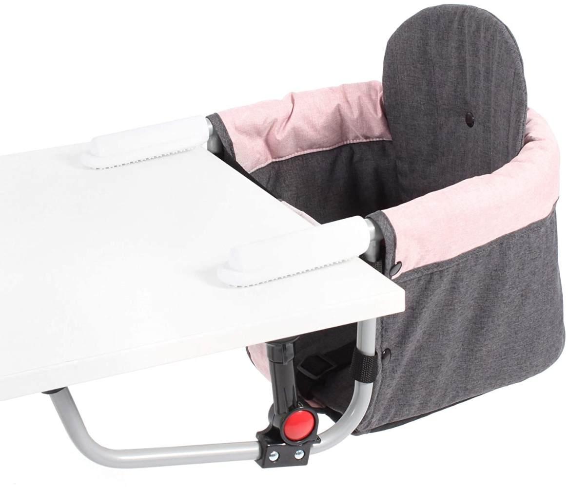 Chic 4 Baby Tischsitz Relax Hochstuhl Tisch-Sitz Melange rosa Bild 1