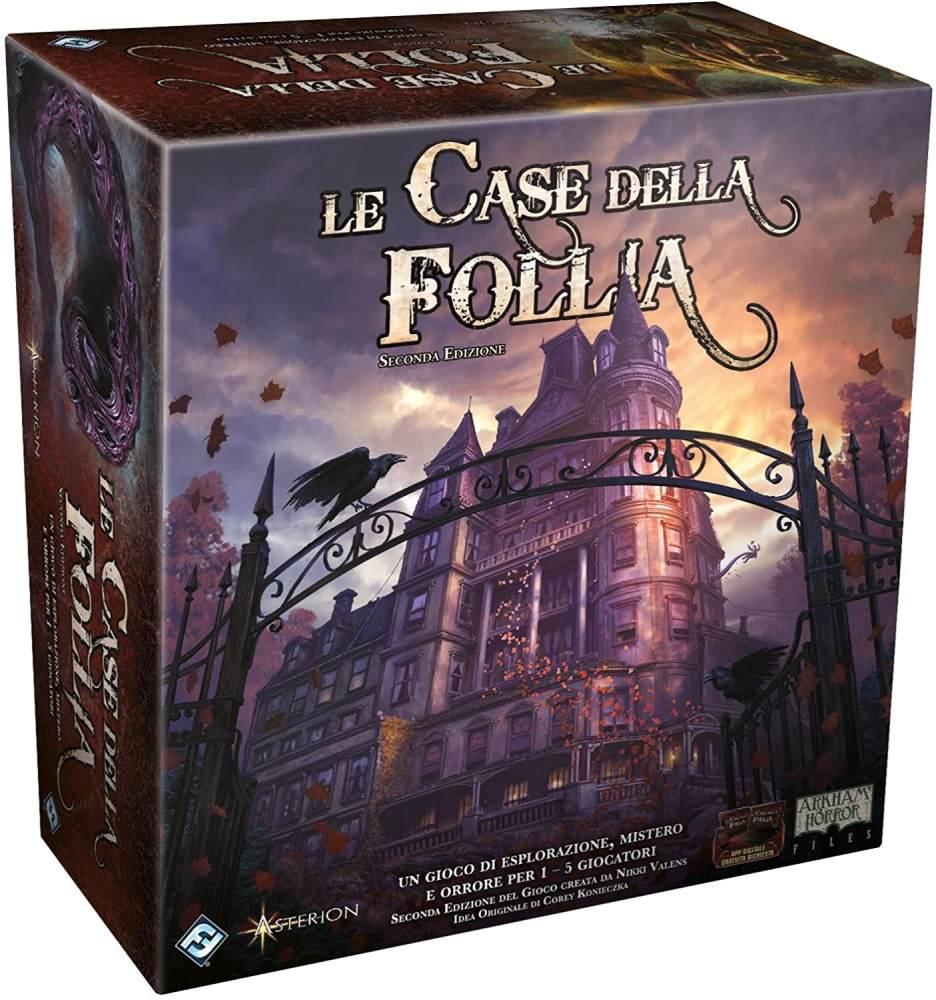 Asmodee-Le Cases der Follia 2A-Edition, Brettspiel, 9400 Bild 1