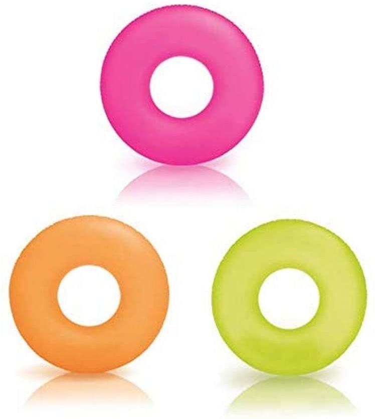 Intex 59262NP–Schwimmring Neon, 91cm, Farben Sortiert Bild 1