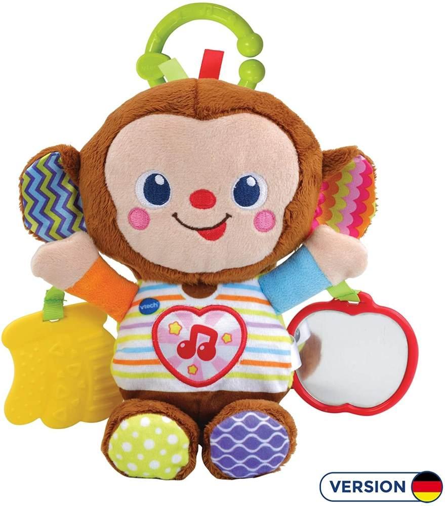 Vtech 80-513404 Babyäffchen Babyspielzeug, Mehrfarbig Bild 1