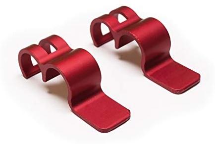 Burley Unisex– Erwachsene Rahmenriegel-3091996722 Rahmenriegel, Rot, One Size Bild 1