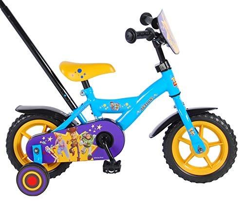 Kubbinga bv Toy Story 10 Zoll Fahrrad Kinderfahrrad mit Stützräder und Schiebestange Bild 1