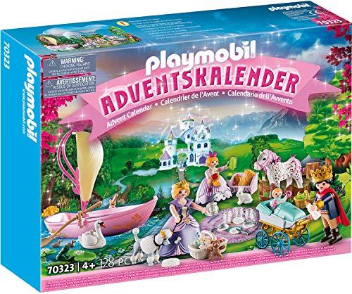 PLAYMOBIL Adventskalender 70323 Königliches Picknick im Park, Für Kinder ab 4 Jahren Bild 1
