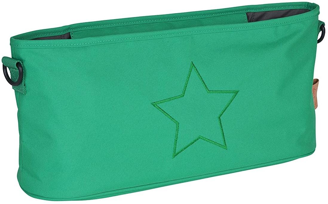 Lässig Casual Buggy Organizer Kinderwagenorganizer-/tasche mit Reißverschluss, Star, deep green Bild 1