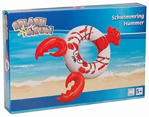 Splash & Fun Schwimmring Hummer Bild 1