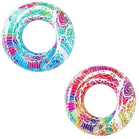 Bestway Schwimmring 'Mandala', 91 cm - 1x Schwimmring, zufällige Farbauswahl Bild 1