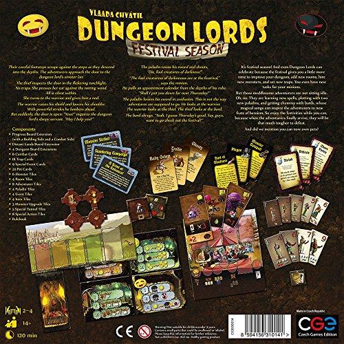 Czech Games Edition CGE00014 - Dungeon Lords: Festival Season Bild 1