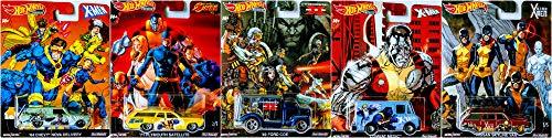 Cars Mattel DLB45 - '64 Chevy® Nova Delivery - Pop Culture X-Men | Hot Wheels Premium Auto Set Bild 1