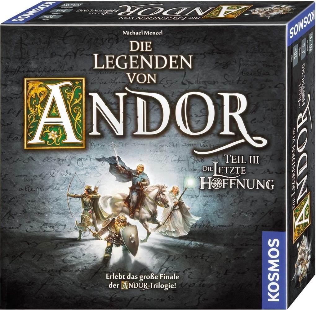 Kosmos 692803 - Die Legenden von Andor - Teil III Die letzte Hoffnung, Fantasy-Brettspiel ab 10 Jahre, das große Finale der Andor-Trilogie, eigenständiges Spiel Bild 1