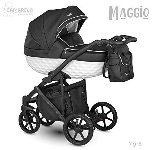 Camarelo Maggio 3in1 Kombikinderwagen Farbe Mg-6 schwarz/weiß Bild 1