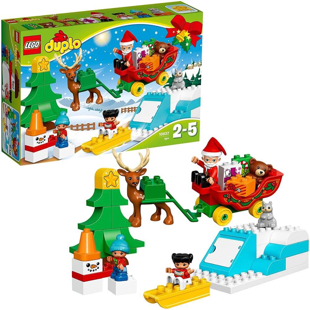 LEGO Duplo 10837 - Winterspaß mit dem Weihnachtsmann Bild 1