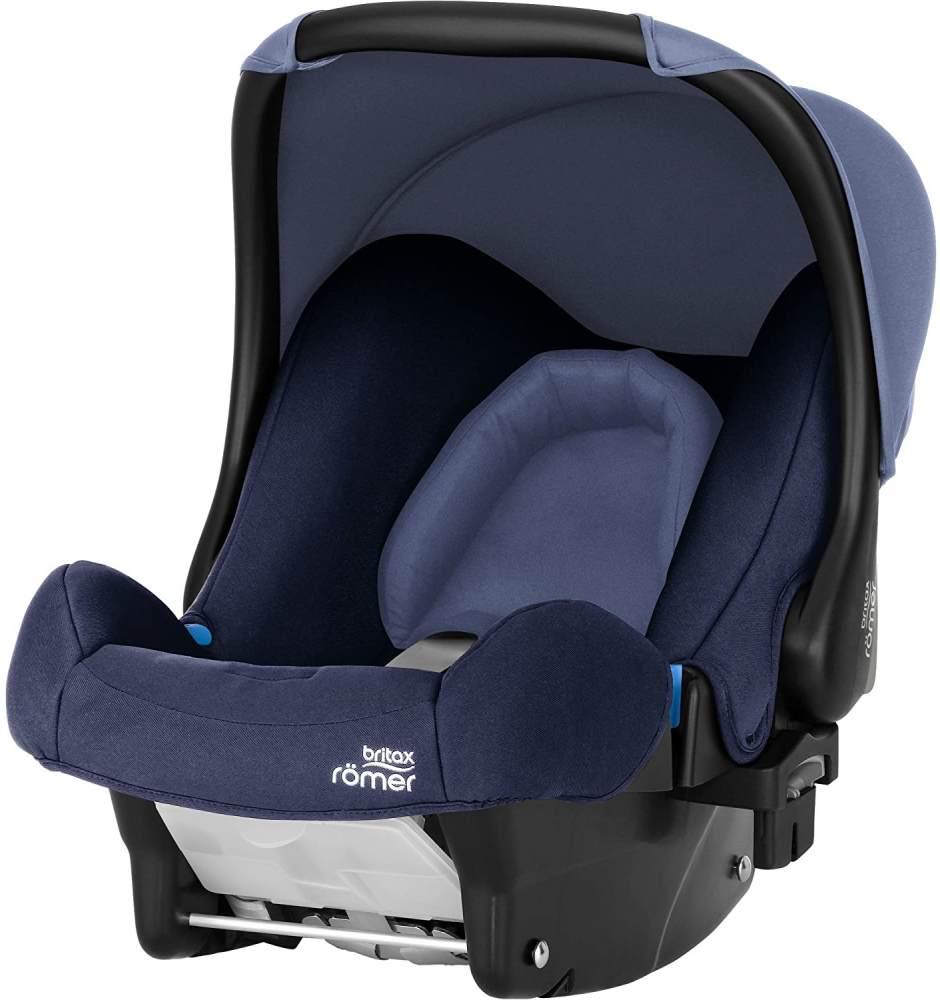 Britax Römer Babyschale Geburt - 13 Monate I 0 - 13 kg I BABY-SAFE Autositz Gruppe 0+ I Moonlight Blue Bild 1