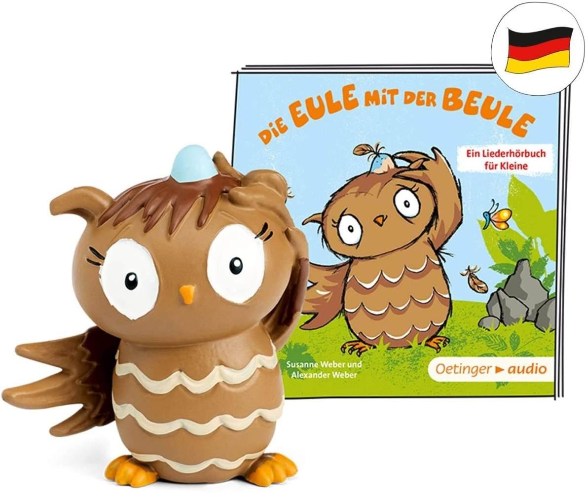 tonies Hörfiguren für Toniebox: Die Eule MIT DER BEULE - Hörbuch und Lieder für Kinder Figur - ca 34 Min. Spieldauer - ab 3 Jahre - DEUTSCH Bild 1