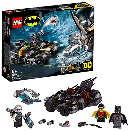 LEGO DC Batman (76118) – Batcycle-Duell mit Mr. Freeze™, Bauset Bild 1