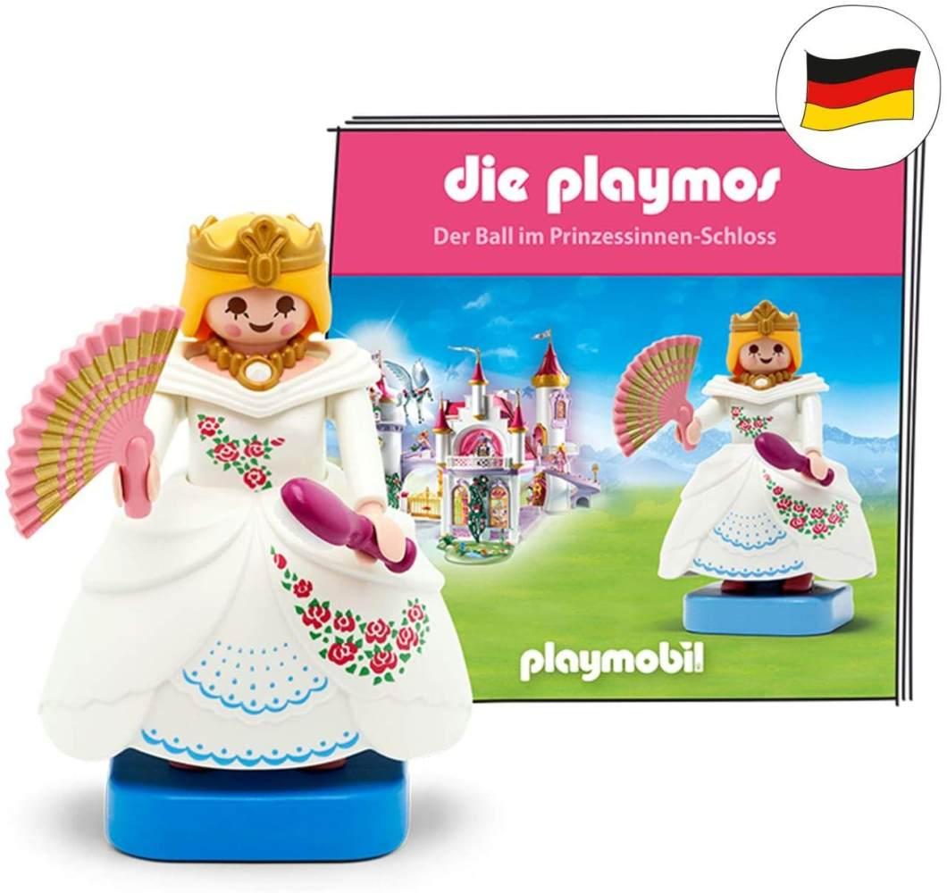 tonies Hörfiguren für Toniebox: die PLAYMOS Hörspiel - Der Ball im Prinzessinnen-Schloss Figur - ca. 60 Min - ab Jahre - DEUTSCH Bild 1