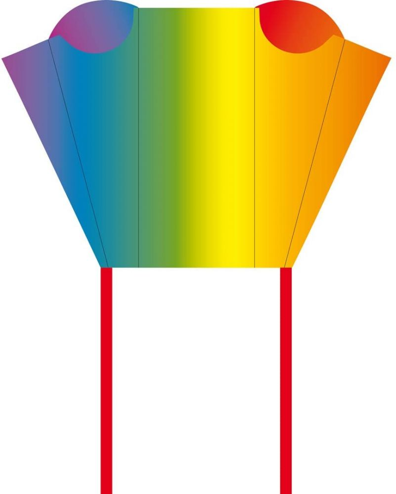 HQ Kinderdrachen Pocket Sled Rainbow Bild 1