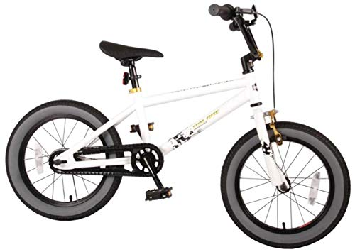 Cool Rider Kinderfahrrad - 16 Zoll - White - mit Rücktrittbremse Bild 1