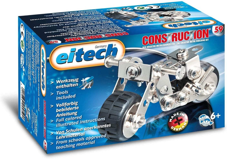 Eitech GmbH C59 eitech Metallbaukasten C59-Mini-Motorrad, Multi Color Bild 1