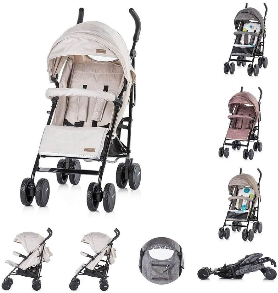 Chipolino Baby-Kinderwagen Sofia, beige Bild 1