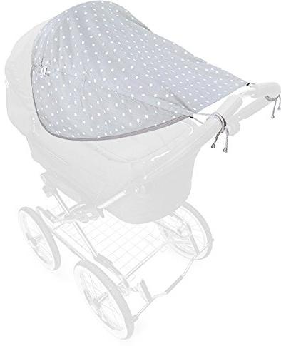 Priebes - Johanna Sonnensegel für Kinderwagen / Buggy, zweiseitig mit Seitenschutz & UV Schutz 50+ - S Bild 1