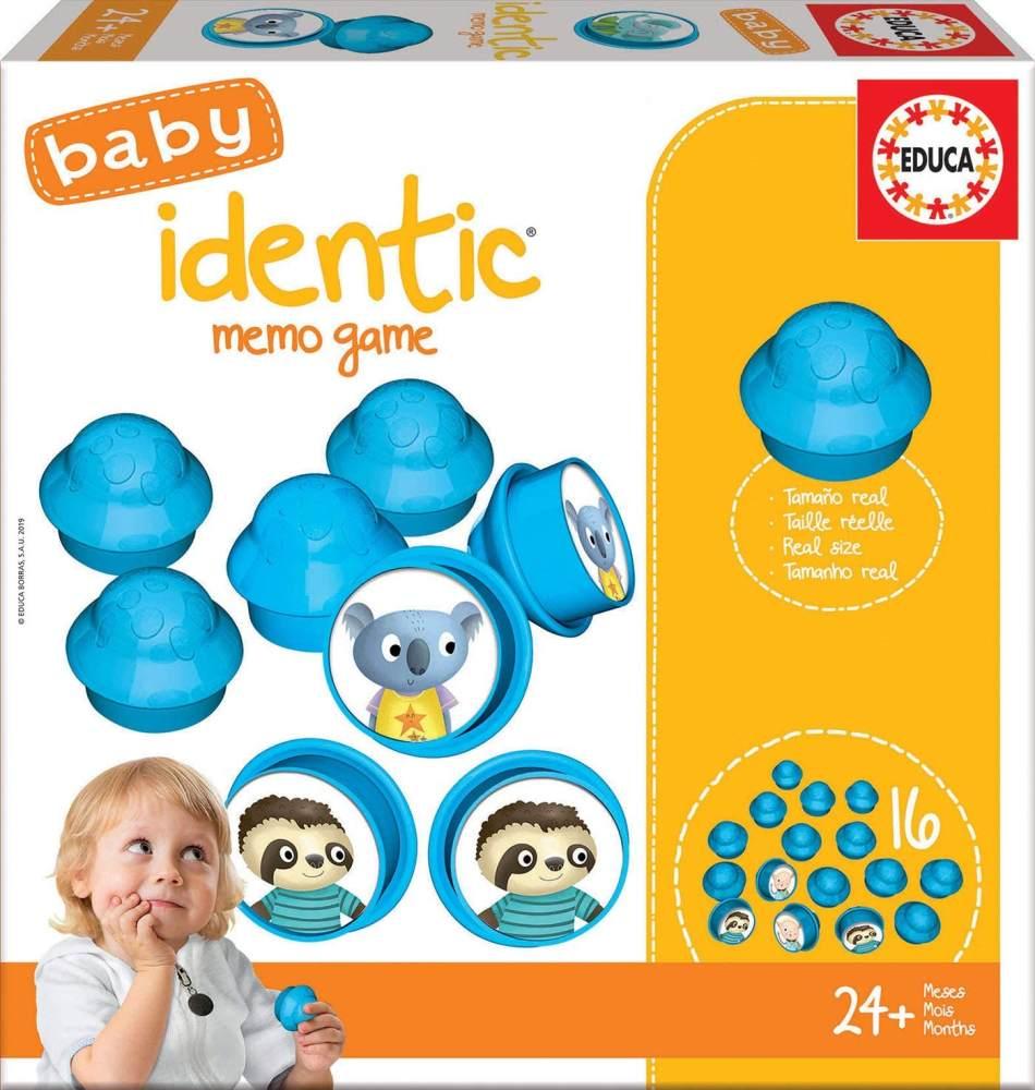 Educa 18124 Baby Identic Memo Game Puzzle, Varié Bild 1