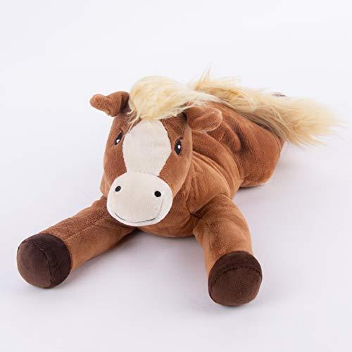 Warmies® Wärmekissen/Stofftier Pony Hirse Lavendelfüllung 40cm 700g Bild 1