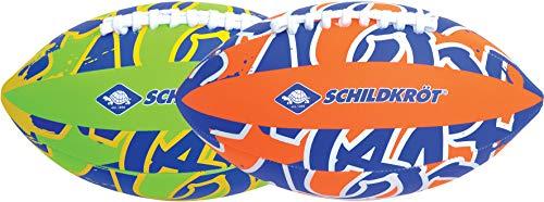 Schildkröt Neopren American Football, Größe 6, 26,5 x 15 cm, farblich sortiert, griffige textile Oberfläche, salzwasserfest, ideal für Stand & Garten, 970289 Bild 1