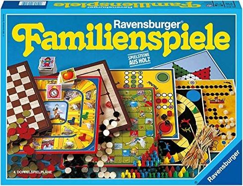 Ravensburger 01315 - Ravensburger Familienspiele - Spielesammlung für die ganze Familie, Spiel für Kinder und Erwachsene ab 4 Jahren, für 2-10 Spieler Bild 1