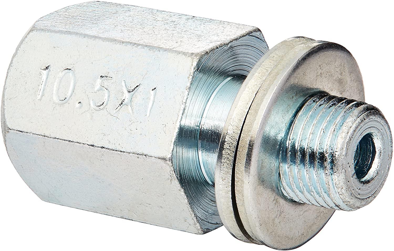 Burley Unisex– Erwachsene Kupplungs-Adapter-3091990600 Kupplungs-Adapter, Silber, One Size Bild 1