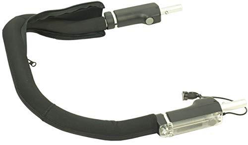 Croozer Unisex– Erwachsene Schiebebügelbezug-3092016121 Schiebebügelbezug, schwarz, One Size Bild 1