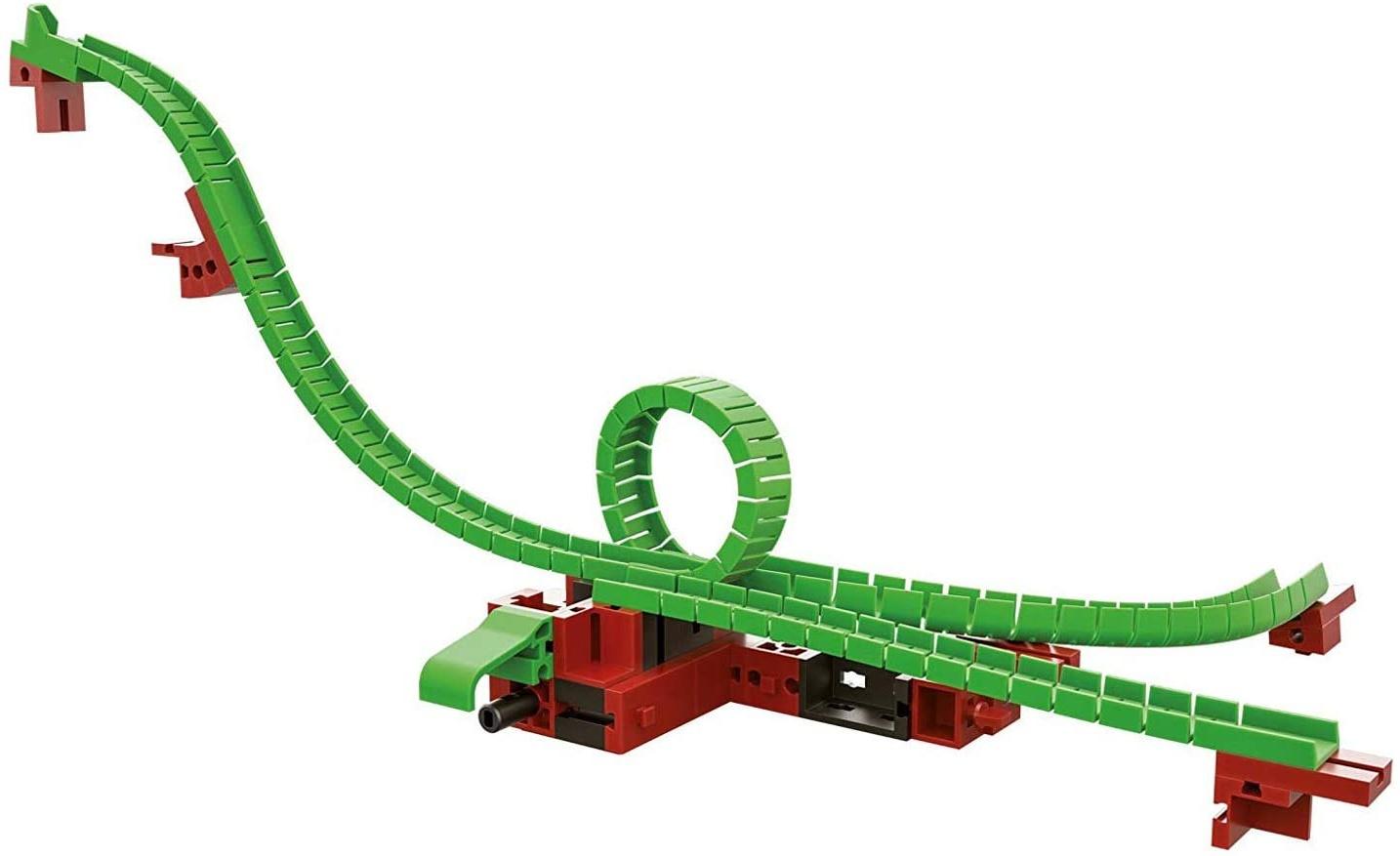 fischertechnik Looping inkl. Stellweiche - ideales Kugelbahn-Erweiterungsset für die fischertechnik Konstruktionsbaukästen der Dynamic-Linie - hier ist konstruieren und experimentieren angesagt Bild 1