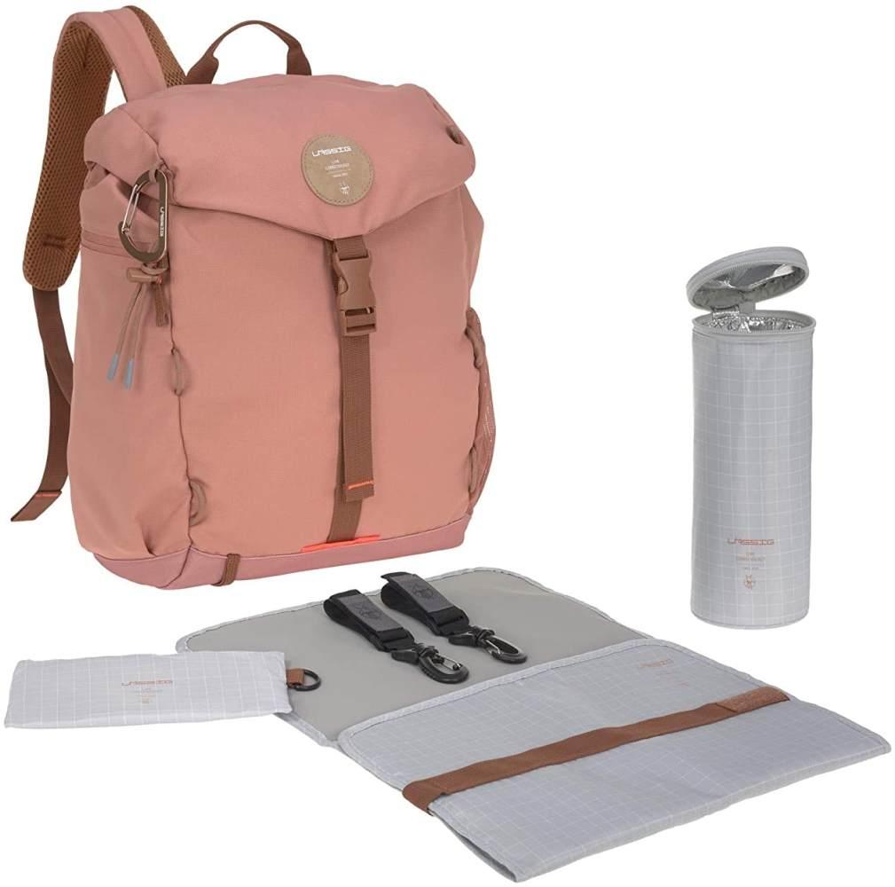 Lässig Wickelrucksack - Outdoor Backpack (4 Farben) Cinnamon Bild 1
