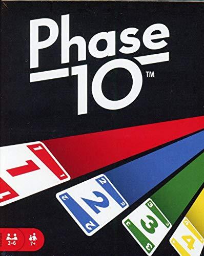Mattel Games FPW38 - Phase 10 Kartenspiel und Gesellschaftspiel geeignet für 2 - 6 Spieler, Gesellschaftsspiele und Kartenspiele ab 7 Jahren Bild 1