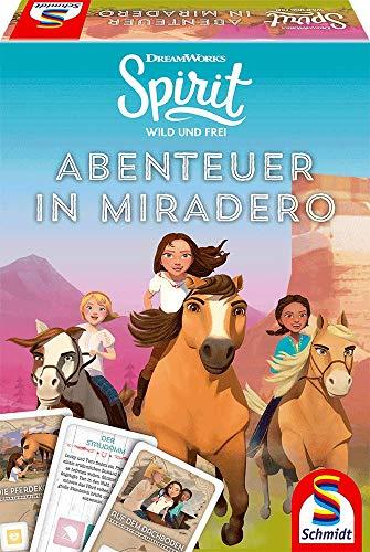 Schmidt Spiele 40601 Spirit, Abenteuer in Miradero, Spiel TV Serie, bunt Bild 1