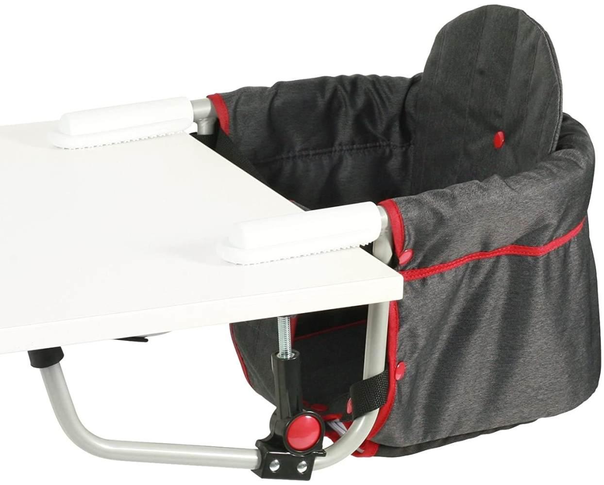 CHIC 4 BABY 350 20 Tischsitz RELAX, Jeans, grau Bild 1
