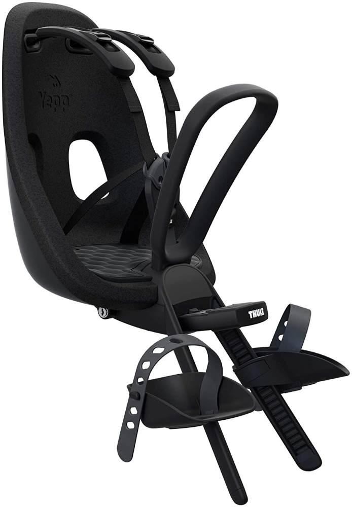 Thule Yepp nexxt Mini Kindersitz vorne, Unisex, schwarz, maximale Tragkraft 15 kg Bild 1