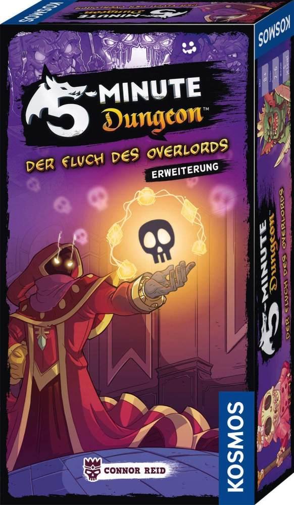 KOSMOS 691264 5-Minute Dungeon - Der Fluch des Overlords, Erweiterung von 5-Minute Dungeon für 6 Spieler Bild 1