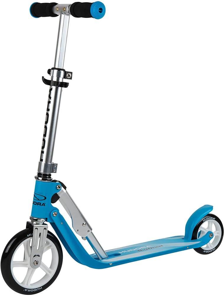HUDORA 14202/00 Little BigWheel, himmelblau-Scooter Roller Kinder-Verstellbare Lenkerhöhe von 68 bis 74 cm Bild 1