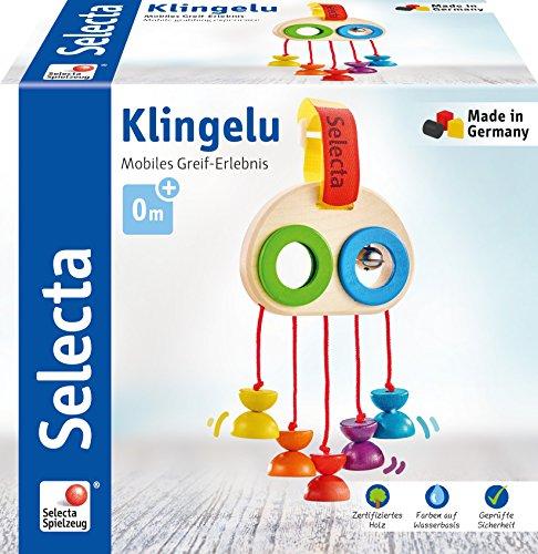 Selecta 61046 Klingelu, Minitrapez und Babayspielzeug, 15,5 cm Bild 1