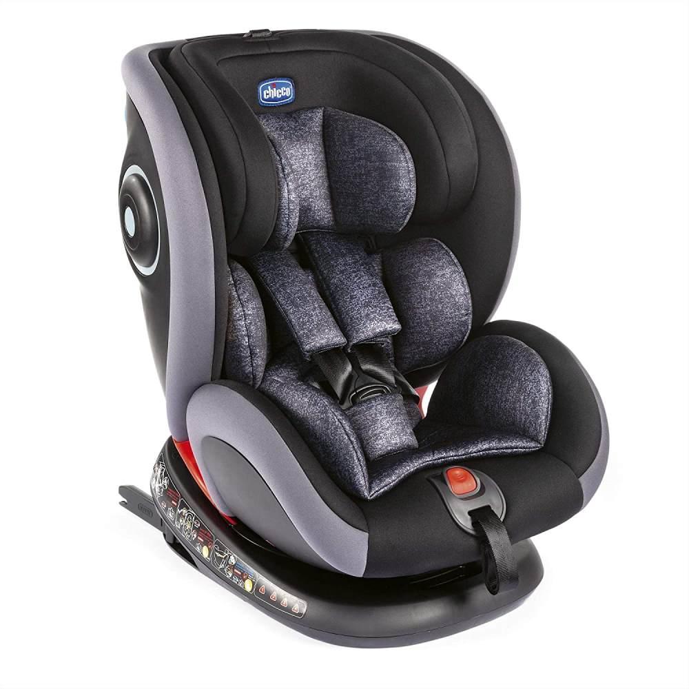 Chicco Kindersitz Seat 4 Fix Graphite 0-36 kg (Gruppe 0+/1/2/3) Isofix Bild 1
