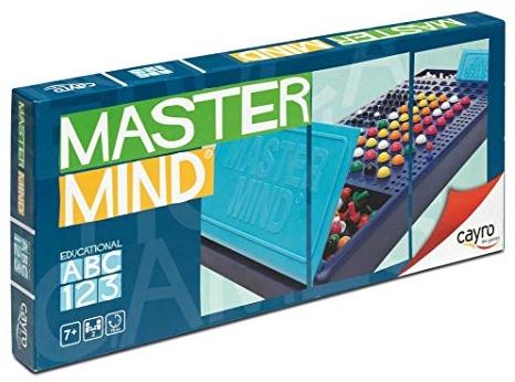 Cayro 946180 - Master Mind Spiel mit Farben Bild 1