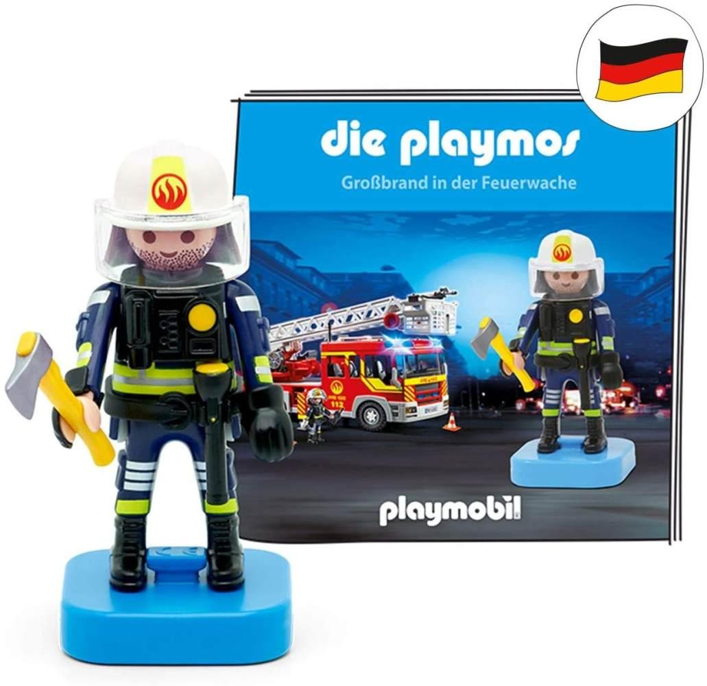 tonies Hörfiguren für Toniebox - Die Playmos - Großbrand in der Feuerwache - ca. 58 Min. - Ab 5 Jahre -DEUTSCH Bild 1