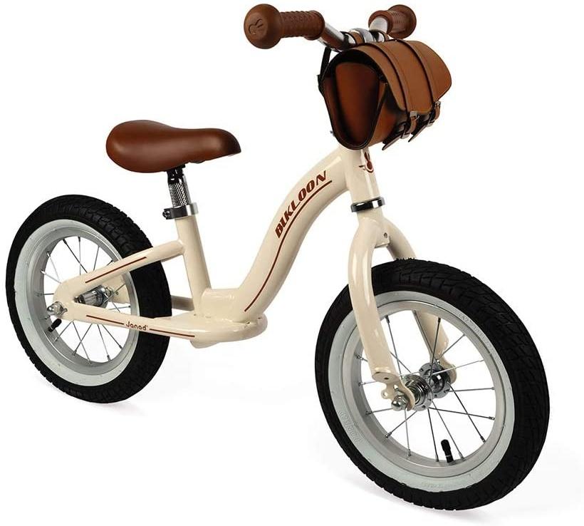 Janod J03294 Bikloon Balance Bike Vintage Metall Beige Bild 1