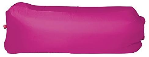 Happy People Lounger to go® Luftmatratze ohne aufpumpen inkl. Tragetasche, pink, 180x75x60cm Bild 1