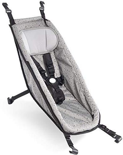 Croozer Babyhängematte für Fahrradanhänger Kid ab 2014 Stone Grey Bild 1