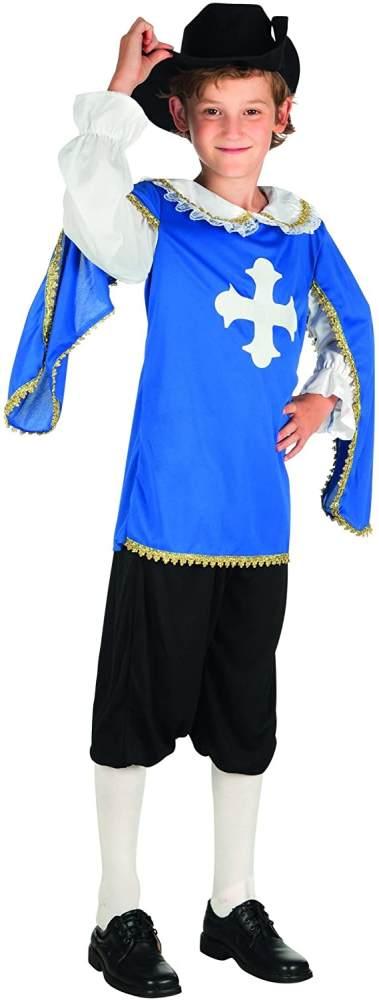 Kinderkostüm 82146 - Musketier, blau Bild 1