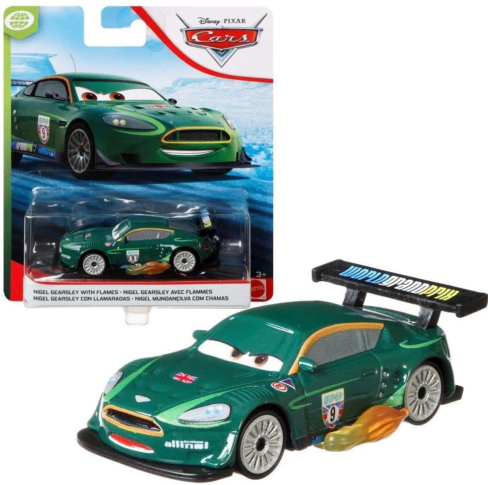 Mattel - Nigel Gearsley with Flames | Modelle 2020 | Disney Cars 3 | Cast 1:55 Autos Bild 1
