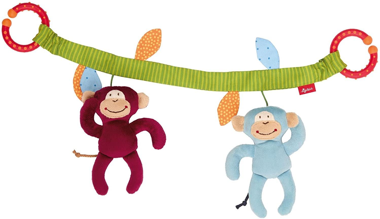 sigikid, Mädchen und Jungen, Wagenkette Affenbande, Mehrfarbig, 42172 Bild 1