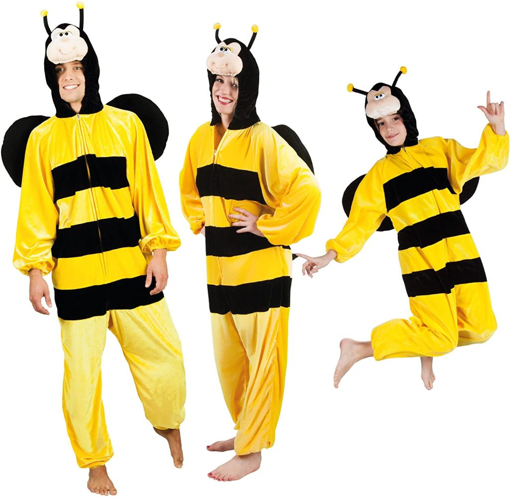 Boland 88264 Kinderkostüm Honigbiene aus Plüsch, 116 Bild 1