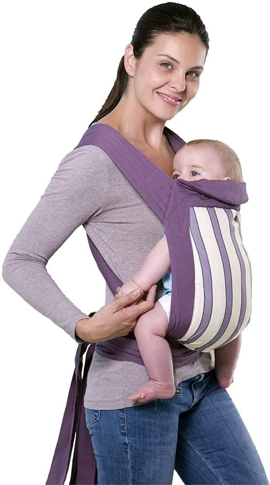 AMAZONAS Babytrage Mei Tai Blueberry Bauchtrage Rückentrage 0-3 Jahre bis 15 kg Bild 1